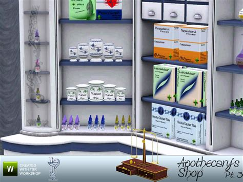 pharmacy clutter sims 4 buffsumm s apothecary s shop pt 3