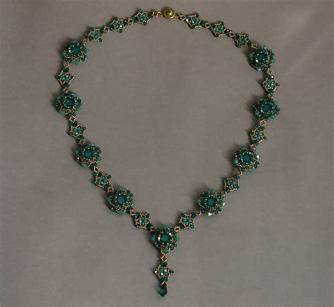 Handmade Necklaces - sidonia s handmade jewelry blooming beaded
