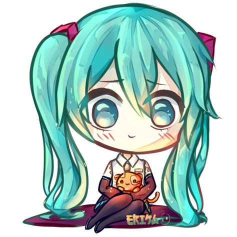 imagenes kawaii de hatsune miku kawaii hatsune miku by dessineka on deviantart