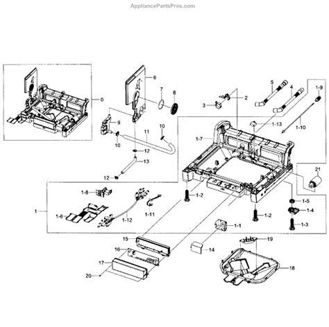 samsung dishwasher parts diagram samsung replacement parts motor repalcement and diagram