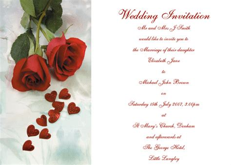 free download wedding invitation templates uk