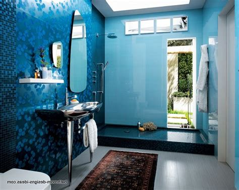 Blue Bathroom Designs Gooosen Home Interior Design And Decor