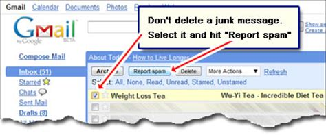 How To Report Spam Email To by Gmail Spam Filter Filtering Junk Emails