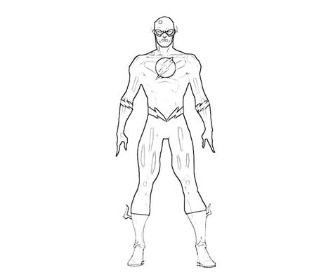 Coloring Pages Flash Superhero Az Coloring Pages Flash Coloring Page
