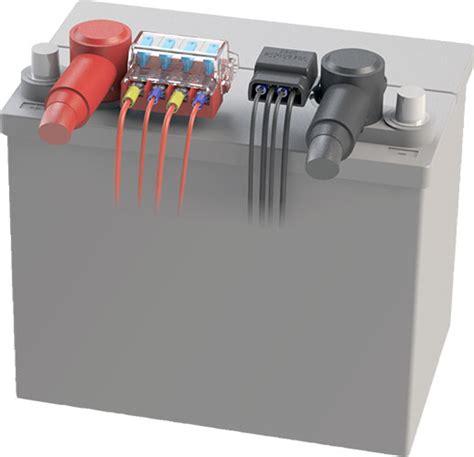 blue sea battery terminal blade fuse block bus bar kit holder dual system  ebay