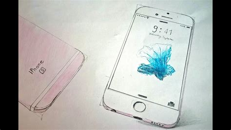 I Phone Sketches by Iphone 6s Drawing