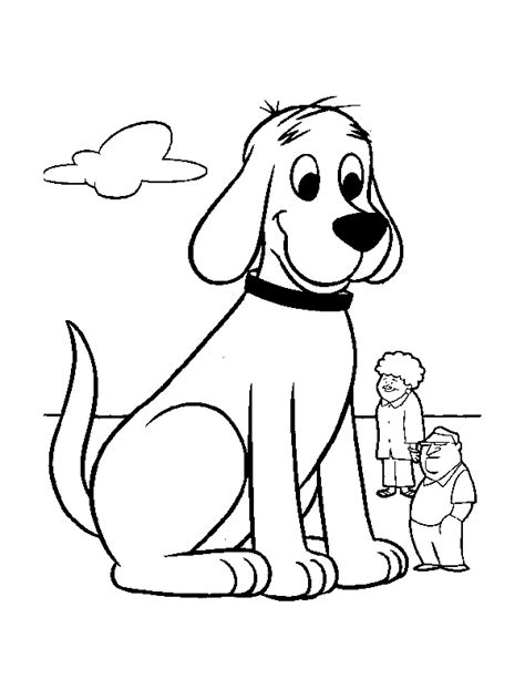 clifford coloring pages coloringpages1001 com