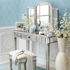 Pier One Vanity Table Hayworth Mirror And Vanity Silver On Sale 349 99 For Vanity Table And 169 99 For Mirror