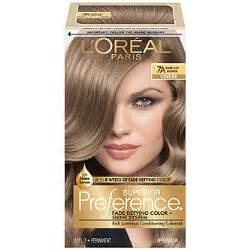 7a hair color l oreal 7a cooler ash hair color 1 kt box