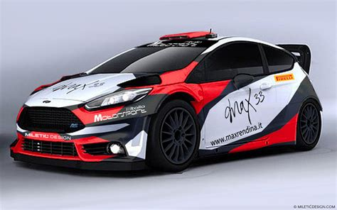 design competition max 33 ford fiesta r5 livery design competition cars