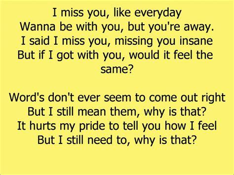 i you lyrics beyonce i miss you lyrics