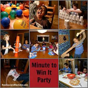 minute to win it for new years resolutions with your free