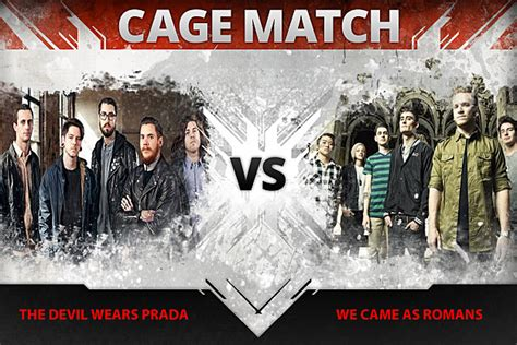 Battle Of The Prada Banks Vs by The Wears Prada Vs We Came As Romans Cage Match