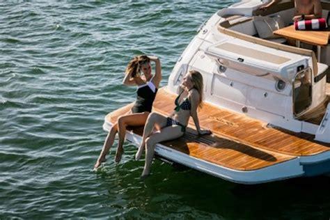 sea ray boat swim platform extension sea ray sundancer 350 coupe 2017 2017 reviews