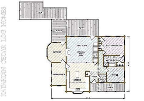 katahdin log home floor plans log home plan 05430 katahdin cedar log homes floor plans