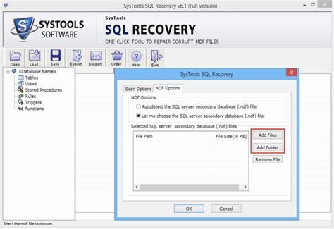 Working Of Sql Recovery Tool