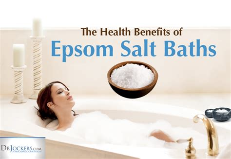 How To Take A Detox Epsom Salt Bath by The Health Benefits Of Epsom Salt Baths Drjockers