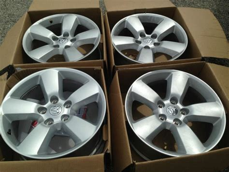 dodge factory 20 inch rims buy four dodge ram 1500 20 inch painted oem alloy wheels