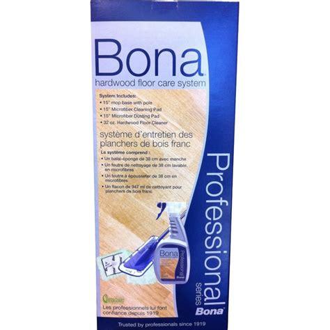 Bona Hardwood Floor System by Bona Pro Series Hardwood Floor Care System