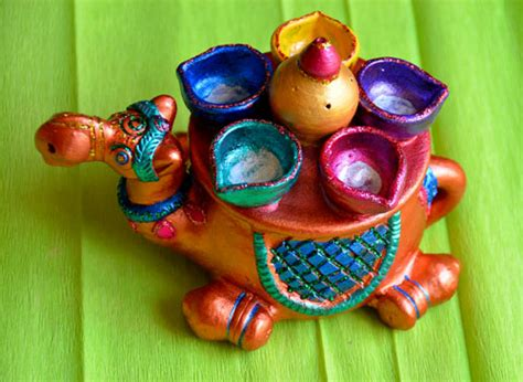 Handmade Decorative Items For Diwali - handmade decorative diyas for diwali two pearls and an