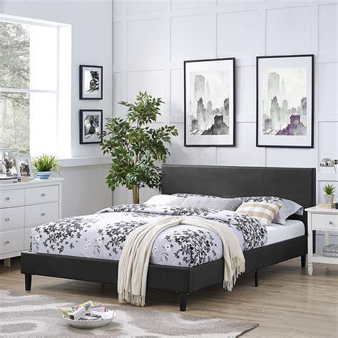 platform bed las vegas anya vinyl bed frame las vegas furniture store