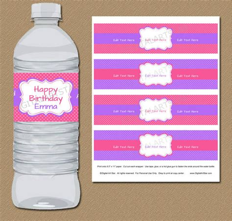 53 Label Design Templates Design Trends Premium Psd Vector Downloads Diy Water Bottle Label Template