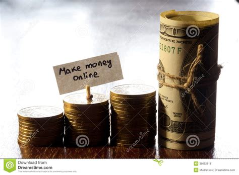 Make Money From Photos Online - make money online royalty free stock photos image 38662618