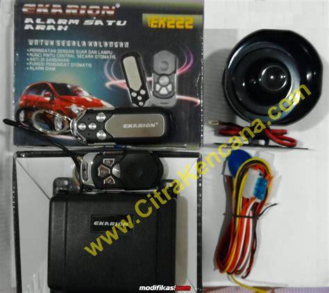 Pasang Alarm Mobil Di Jakarta baru paket murah central lock alarm mobil bergaransi