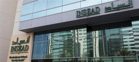 Insead Abu Dhabi Executive Mba insead brings the mba to abu dhabi insead knowledge