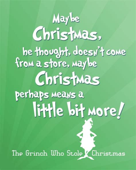 printable version of how the grinch stole christmas free christmas printables with favorite movie quotes