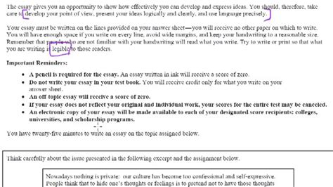 Sat Sle Essay Prompts by Sat Essay Prompt Sat Essay Six Steps To Getting A High Score 110301020127 Phpapp01 Thumbnail 4