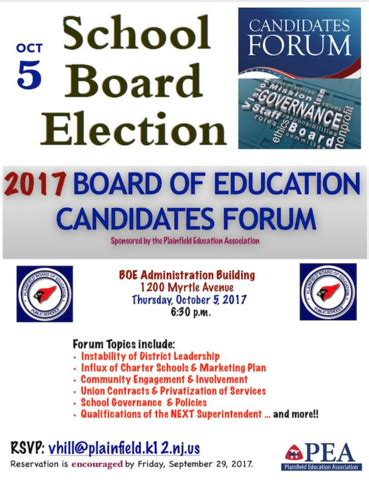 candidate list virginia department of elections pea to hold board of education candidates forum