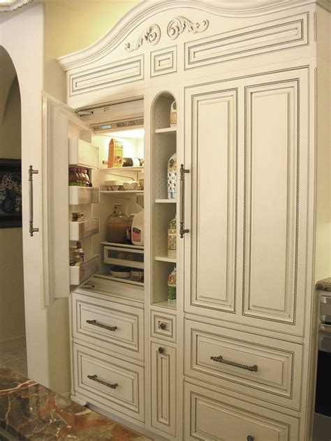 armoire refrigerator new sub zero integrated counter depth refrigerators and