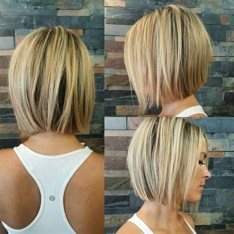 Graduated Bobs For Long Fat Face Thick Hairgirls | 45 trendy short hair cuts for women 2017 popular short