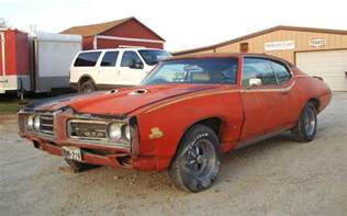 Pontiac 1969 Gto 1969 Pontiac Gto Judge Cow Tipping