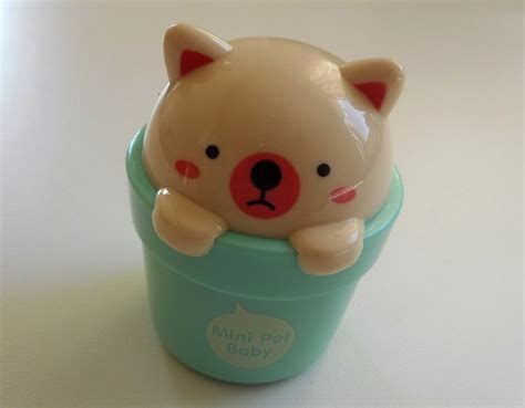 face shop mini pet baby hand cream review