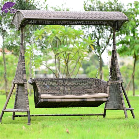 swing chair garden furniture online buy wholesale rattan swing chair from china rattan