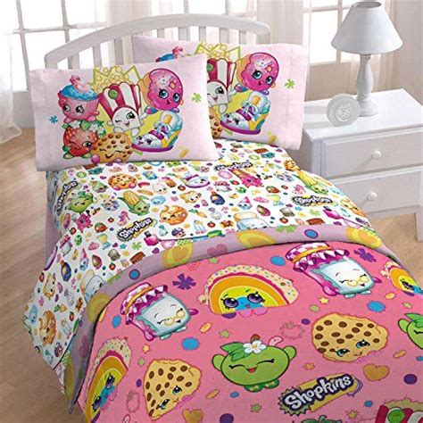 how to shop for bed sheets 4pc shopkins twin bedding set i love shopping comforter