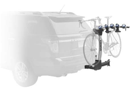thule swing away bike carrier thule 9027 apex swing away 4 bike hitch rack sale