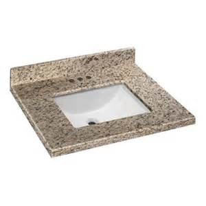 Granite Bathroom Vanity Tops Home Depot Home Decorators Collection 25 In W X 22 In D Granite