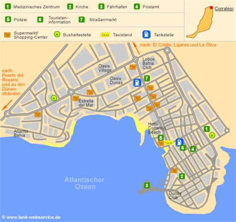 Small Town Charm by Corralejo On Fuerteventura Topography Including Position