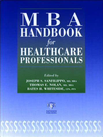 Mba Book List Pdf by Books Free Mba Handbook For Healthcare