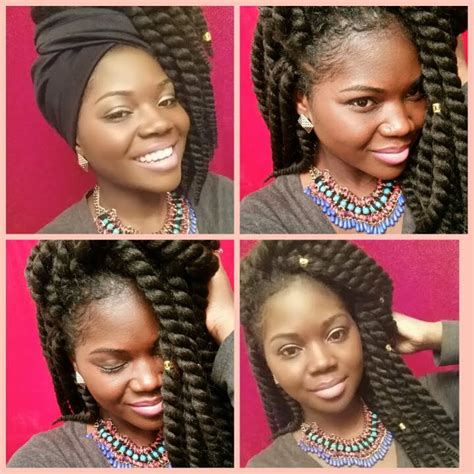 ways to style havana twists 4 easy ways to style mambo havana twists box braids etc