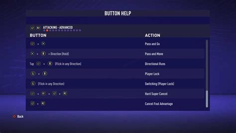 fifa  controls  buttons  playstation xbox  pc