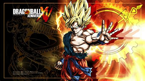 dragon ball wallpaper theme dragon ball xenoverse december v jump theme footage