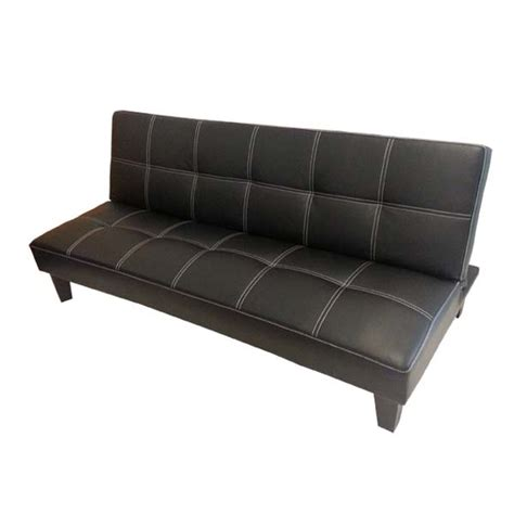leather couch sydney click clack pu leather sofa bed sydney bed
