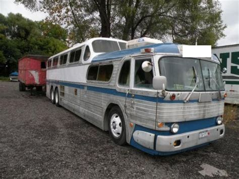 1954 Greyhound Scenicruiser Motorhome 4068   Antique Buses, Motorcoach Conversions   Buses for Sale