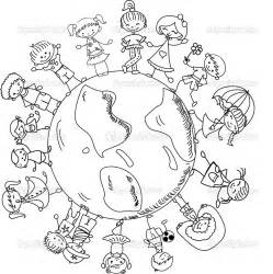world coloring pages children of the world coloring pages bestofcoloring