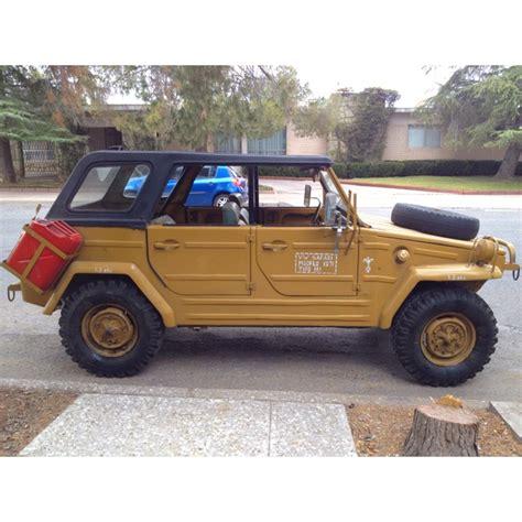 volkswagen safari vw safari vw 181 thing k 252 bel pinterest cars