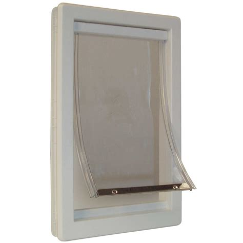 dog house door flap durable pet door flap small dog cat safe soft telescoping frame house garage box ebay